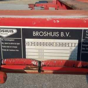Semirimorchio Broshuis Portacontainer Allungabile