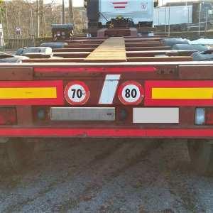 Semirimorchio OMT Portacontainer Allungabile