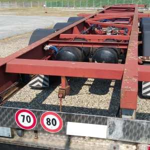 Semirimorchio C.C.F.C Portacontainer Fisso