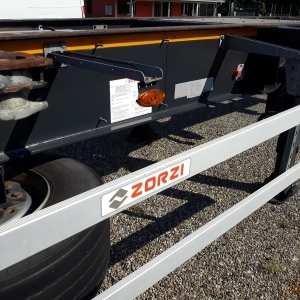 Semirimorchio Zorzi Portacontainer Fisso